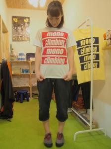 Mono Climbing Studio オリジナルTシャツ
