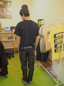 Mono Climbing StudioオリジナルTシャツ バック