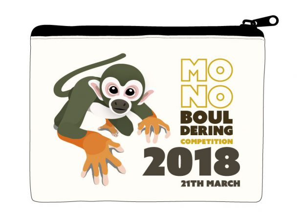 Mono Bouldering Competition 2018 参加賞
